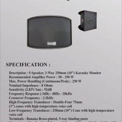Speaker Karaoke IV 10Q