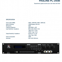 Pasline PL-250B