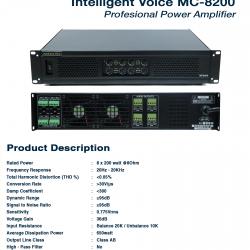 Intelligent Voice MC-8200 Black
