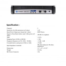 Power CROWN CDI 2000