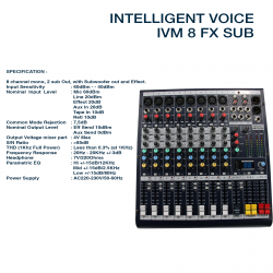 Intelligent Voice M-8 FX SUB
