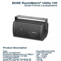 Bose RoomMatch Utility RMU-105