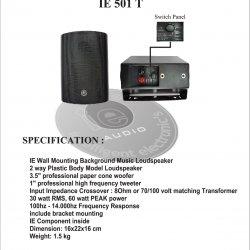 Speaker Ie 501T