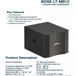 Bose  LT MB12