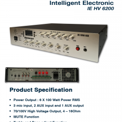 Intelligent Electronic HV-6200