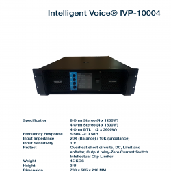 Intelligent Voice P-10004