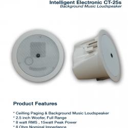 Intelligent Electronic CT-25s