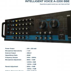 Imtelligent Voice A-2200 BBE