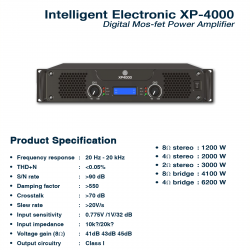 Intelligent Electronic XP-4000