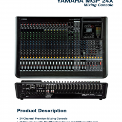 Yamaha MGP 24X
