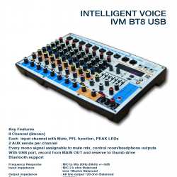 Intelligent Voce M BT-8 USB