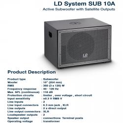 LD System SUB 10A