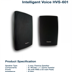 Intelligent Voice HVS-601