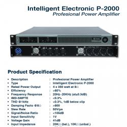 Intelligent Electronic P-2000