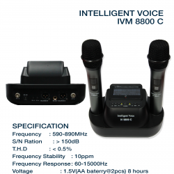 Intelligent Voice M-8800C