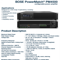 Bose PowerMatch PM-4500