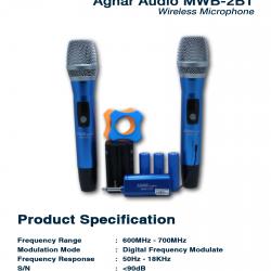 AGNAR AUDIO MWB-2BT