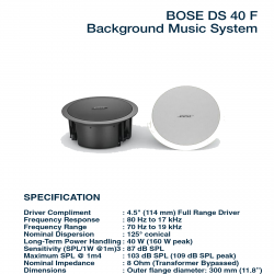 Bose FreeSpace DS 40 F
