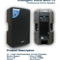 Intelligent Voice Max 15
