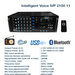 Intelligent Voice P-2100 II
