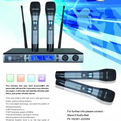 Mic Wireless Intelligent Electronic M-100