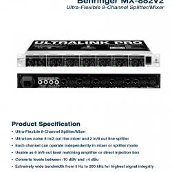 Behringer MX-882 V2