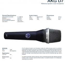 AKG D7