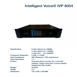 Intelligent Voice P-8004