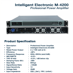 Intelligent Electronic M-4200