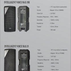 Speaker Aktif IV MAX 15H