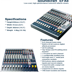 Soundcraft EFX-8