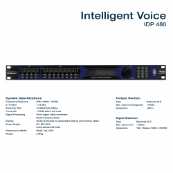 Intelligent Voice IDP-480