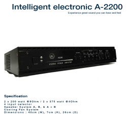 Intelligent Electronic A-2200