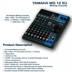 Yamaha MG 10 XU