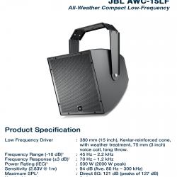 JBL AWC 15LF