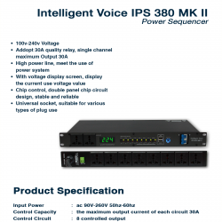 Intelligent Voice IPS 830 MK II