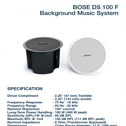 Bose FreeSpace DS 100 F