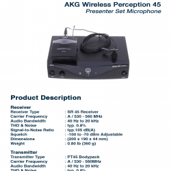 AKG 45 Presenter Set