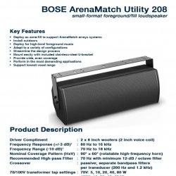Bose ArenaMatch Utility AMU-208