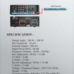 Amplifier IV A2200 BBE