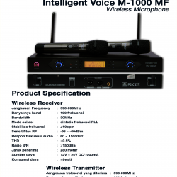 Intelligent Voice M-1000 MF