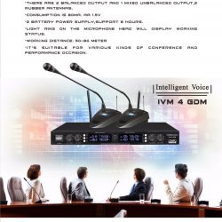 Mic Wireless Conference IVM 4 GDM