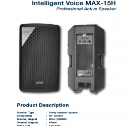 Intelligent Voice Max 15H