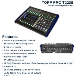 TOPP PRO T-2208