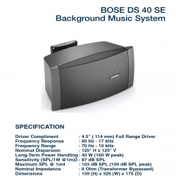 Bose FreeSpace DS 40 SE