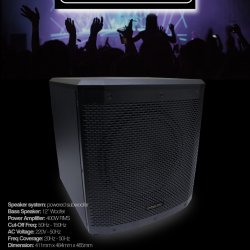 Subwoofer Intelligent Voice IV S-12A